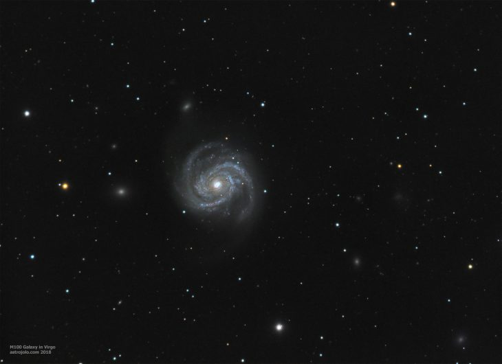 M100 galaxy in Virgo