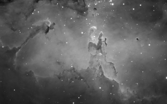 Pillars in M16 Eagle Nebula