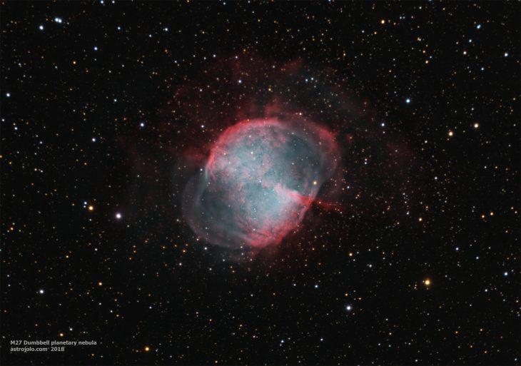 M27 Dumbbell planetary nebula