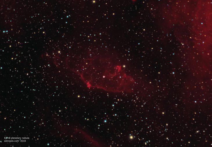 KjPn8 planetary nebula