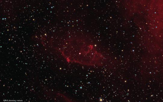 KjPn8 planetary nebula in Cassiopeia