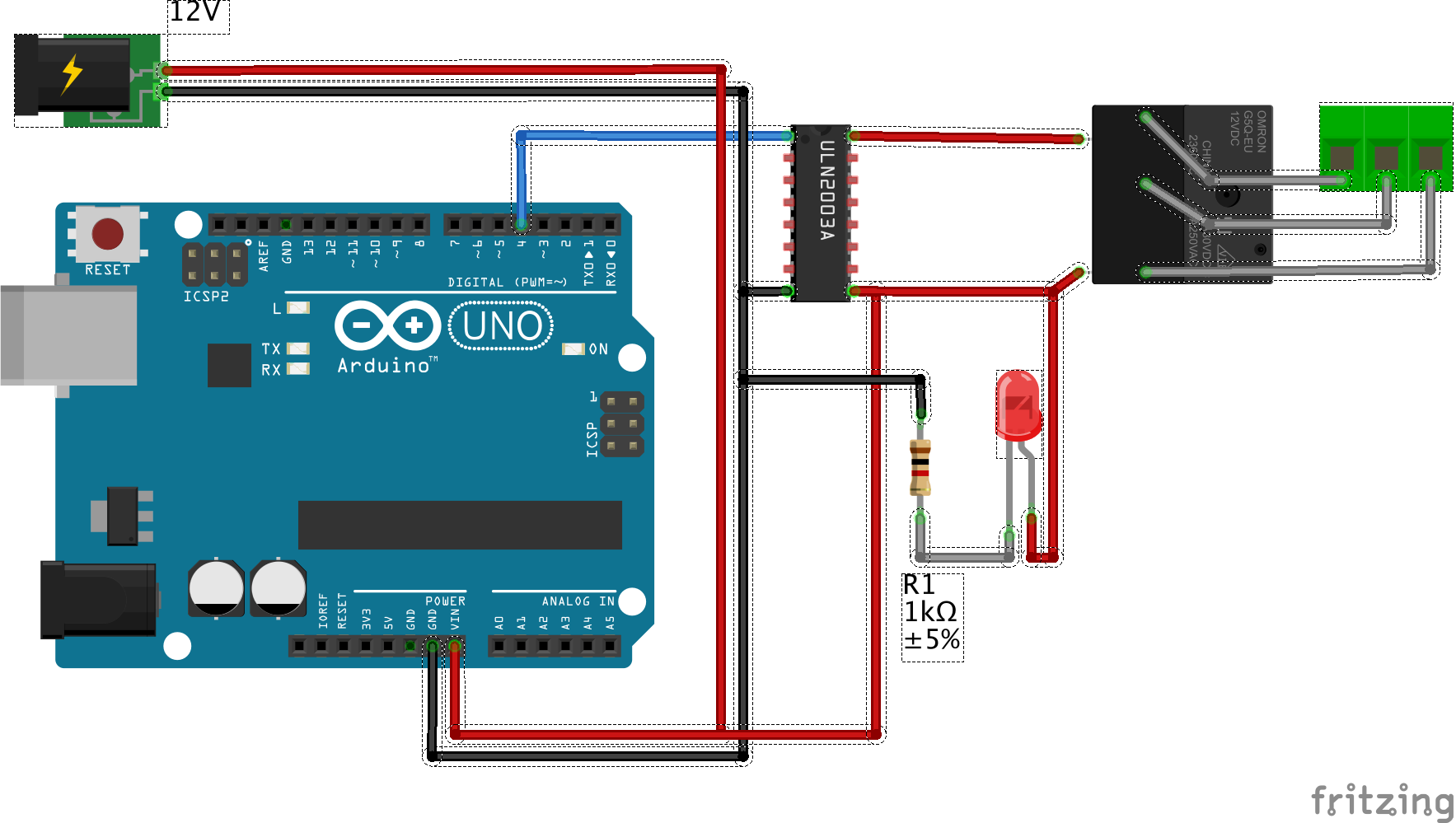 Astro Arduino Part I Astrojolo Simple Relay Shield For Use Projects Connecting To Using Uln2003 8 Channel Darlington Array