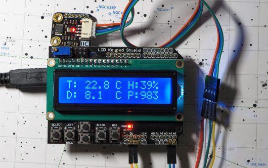 Astro Arduino - part II - weather monitor