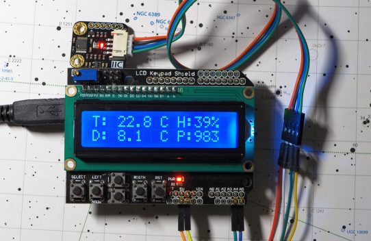 Astro Arduino - part II - weather monitor