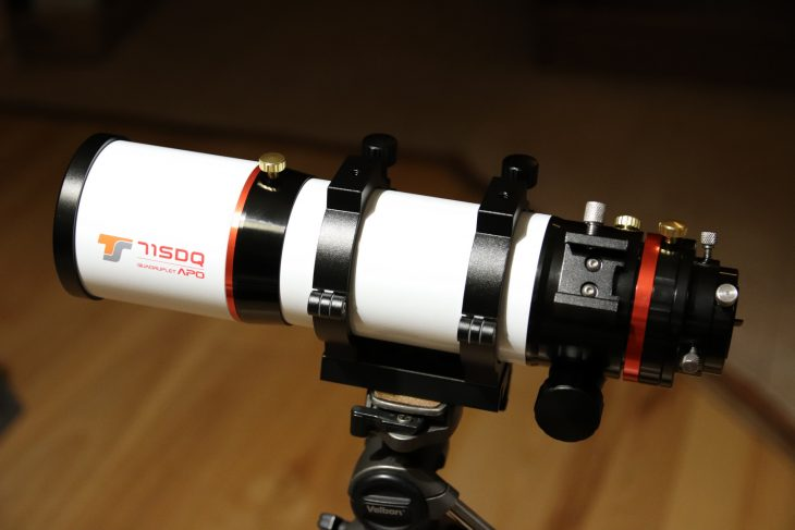 TS Optics 71SDQ quadruplet refractor