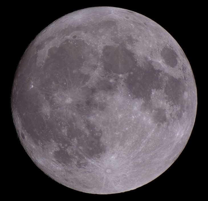 Moon raw image