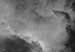 Cygnus Wall hydrogen alpha