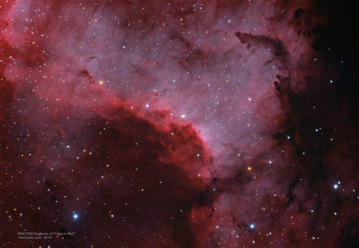 NGC7000 Cygnus Wall in Cygnus