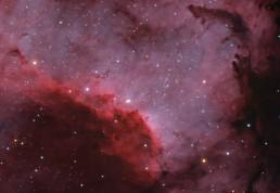 Cygnus Wall fragment HORGB