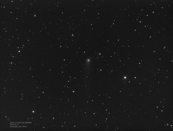 Comet C2018 N2 ASASSN