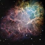Messier 1 Crab nebula expansion