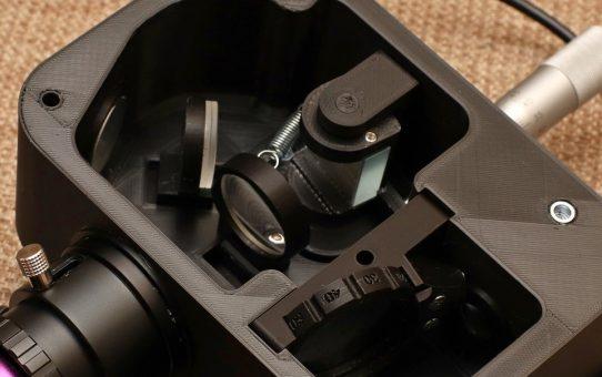 LowSpec amateur spectroscope