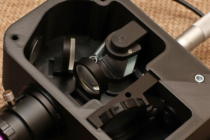 LowSpec spectroscope cover
