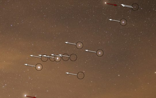 Big Dipper cluster - Collinder 285 spectra