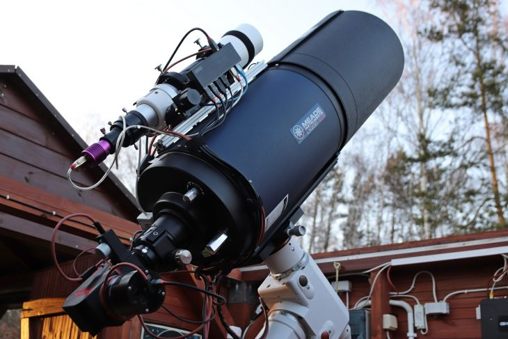 "Meade ACF 10"" with LowSpec spectroscope"