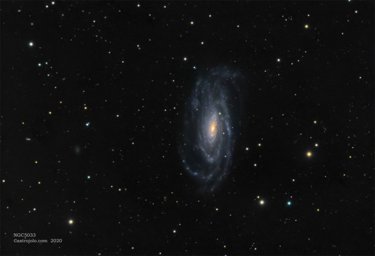 NGC5033 galaxy