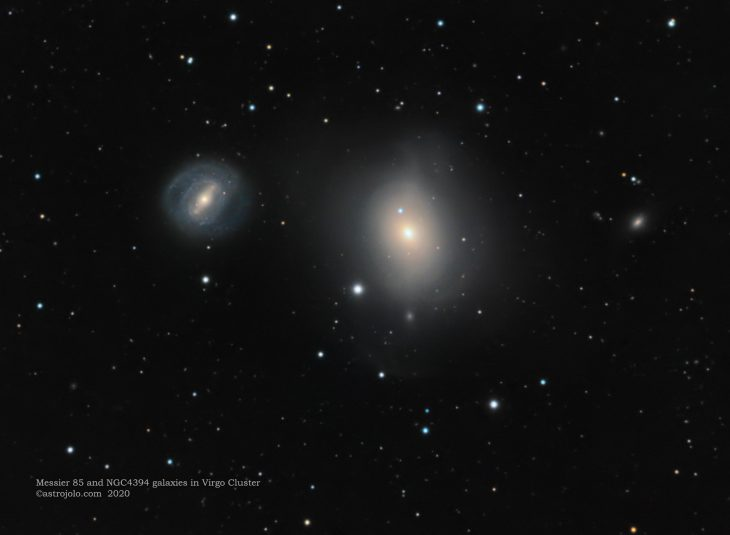 M85 and NGC4934 galaxies