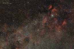 Gamma Cygni wide field
