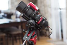 QHY247C camera with Samyang 135 lens