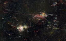 Orion belt wide-field